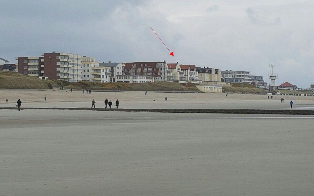 """Die Ferienwohnung """"Hund im Glück"""" im Strandhaus Kaiserhof"""