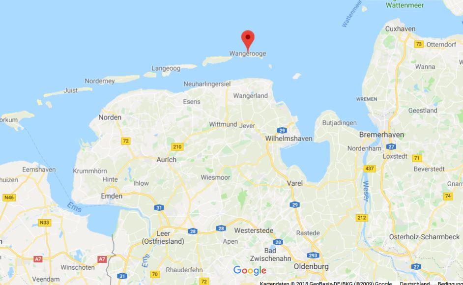 map-wangerooge